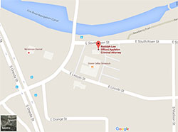 Click for map and directions to Rudolph Law Offices located at 111 East South River in Appleton WI